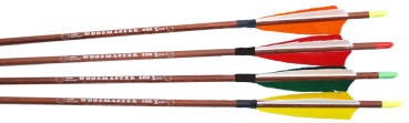 "X-Line  ""WOODMASTER"" 6.2mm Carbon arrow"
