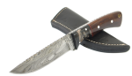 Damascus Hunting/Skinning knife 8""